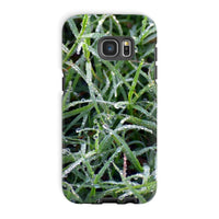 Early Morning Dew On Grass Phone Case Galaxy S7 Edge / Tough Gloss & Tablet Cases
