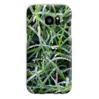 Early Morning Dew On Grass Phone Case Galaxy S7 / Snap Gloss & Tablet Cases