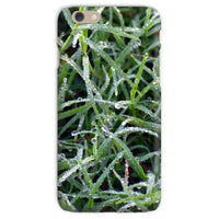 Early Morning Dew On Grass Phone Case Iphone 6S / Snap Gloss & Tablet Cases