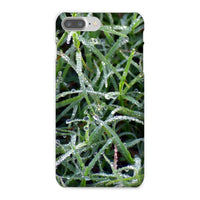 Early Morning Dew On Grass Phone Case Iphone 8 Plus / Snap Gloss & Tablet Cases