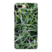 Early Morning Dew On Grass Phone Case Iphone 8 Plus / Tough Gloss & Tablet Cases