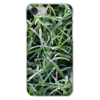 Early Morning Dew On Grass Phone Case Iphone 8 / Snap Gloss & Tablet Cases