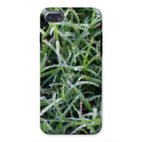 Early Morning Dew On Grass Phone Case Iphone 8 / Tough Gloss & Tablet Cases