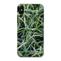 Early Morning Dew On Grass Phone Case Iphone X / Snap Gloss & Tablet Cases