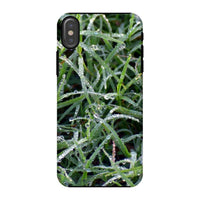 Early Morning Dew On Grass Phone Case Iphone X / Tough Gloss & Tablet Cases