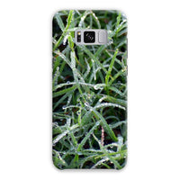 Early Morning Dew On Grass Phone Case Samsung S8 Plus / Snap Gloss & Tablet Cases