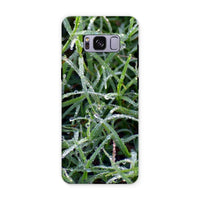 Early Morning Dew On Grass Phone Case Samsung S8 Plus / Tough Gloss & Tablet Cases