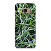 Early Morning Dew On Grass Phone Case Samsung S8 / Snap Gloss & Tablet Cases