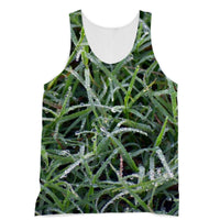 Early Morning Dew On Grass Sublimation Vest Xs Apparel