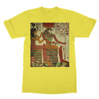 Egyptian Wall 1956 Softstyle Ringspun T-Shirt S / Daisy Apparel