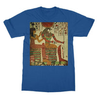 Egyptian Wall 1956 Softstyle Ringspun T-Shirt S / Royal Blue Apparel