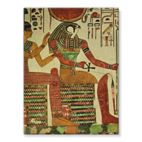 Egyptian Wall 1956 Stretched Canvas 12X16 Decor