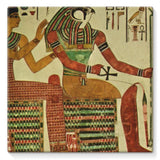 Egyptian Wall 1956 Stretched Canvas 14X14 Decor