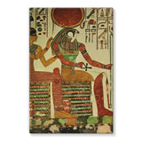 Egyptian Wall 1956 Stretched Canvas 24X36 Decor
