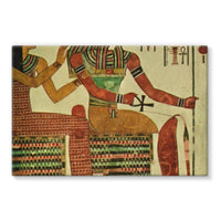 Egyptian Wall 1956 Stretched Canvas 36X24 Decor