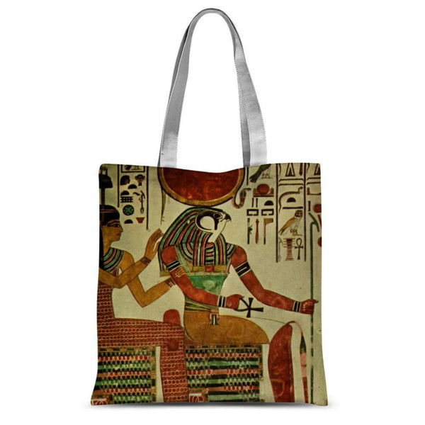 Egyptian Wall 1956 Sublimation Tote Bag 15X16.5 Accessories