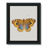 Eight Eyes Butterfly Framed Eco-Canvas 11X14 Wall Decor