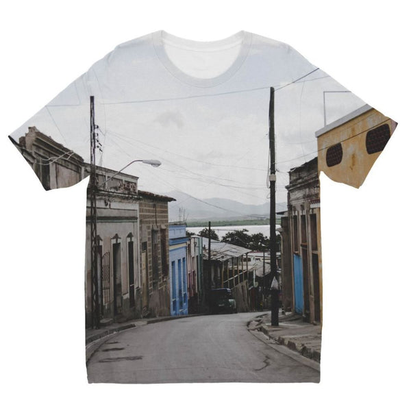 Empty Cuban Street Kids Sublimation T-Shirt 3-4 Years Apparel