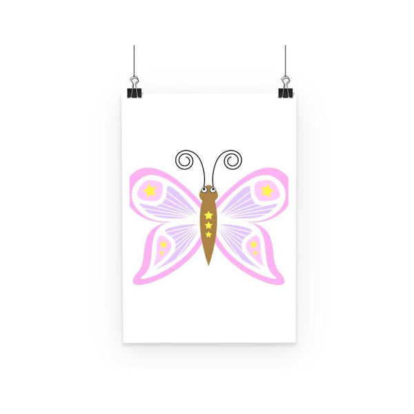Fantasy Butterfly Poster A3 Wall Decor