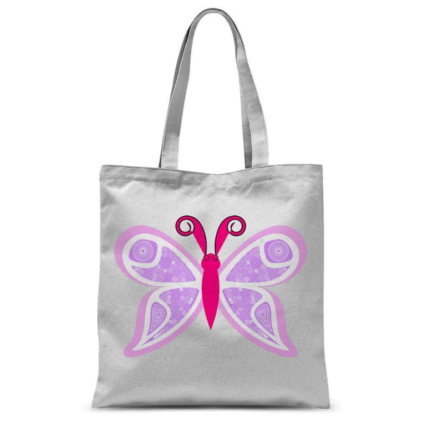 Fauno Butterfly Sublimation Tote Bag 15X16.5 Accessories
