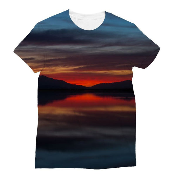 Final Light Of Sunset Sublimation T-Shirt Xs Apparel