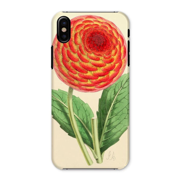Floral Magazine 1869 Dahlia Phone Case Iphone X / Snap Gloss & Tablet Cases