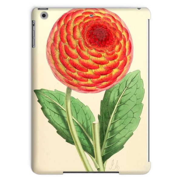 Floral Magazine 1869 Dahlia Tablet Case Ipad Air Phone & Cases