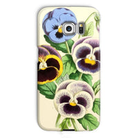 Floral Magazine 1869 Pansies Phone Case Galaxy S6 Edge / Snap Gloss & Tablet Cases