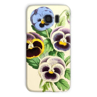 Floral Magazine 1869 Pansies Phone Case Galaxy S6 / Snap Gloss & Tablet Cases