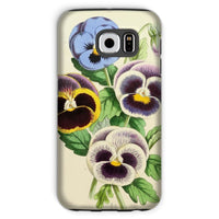 Floral Magazine 1869 Pansies Phone Case Galaxy S6 / Tough Gloss & Tablet Cases