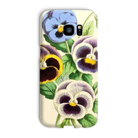 Floral Magazine 1869 Pansies Phone Case Galaxy S7 Edge / Snap Gloss & Tablet Cases