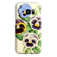 Floral Magazine 1869 Pansies Phone Case Galaxy S7 / Snap Gloss & Tablet Cases