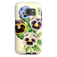 Floral Magazine 1869 Pansies Phone Case Galaxy S7 / Tough Gloss & Tablet Cases