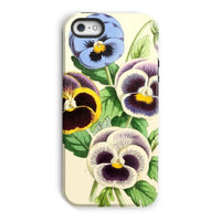 Floral Magazine 1869 Pansies Phone Case Iphone 5/5S / Tough Gloss & Tablet Cases