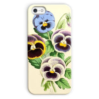 Floral Magazine 1869 Pansies Phone Case Iphone 5C / Snap Gloss & Tablet Cases
