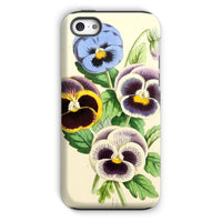 Floral Magazine 1869 Pansies Phone Case Iphone 5C / Tough Gloss & Tablet Cases