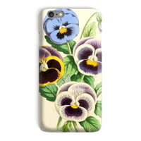 Floral Magazine 1869 Pansies Phone Case Iphone 6 Plus / Snap Gloss & Tablet Cases