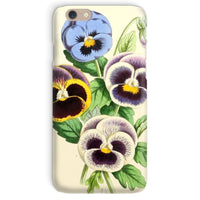 Floral Magazine 1869 Pansies Phone Case Iphone 6 / Snap Gloss & Tablet Cases