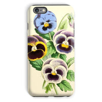 Floral Magazine 1869 Pansies Phone Case Iphone 6S Plus / Tough Gloss & Tablet Cases