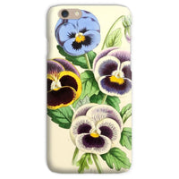Floral Magazine 1869 Pansies Phone Case Iphone 6S / Snap Gloss & Tablet Cases