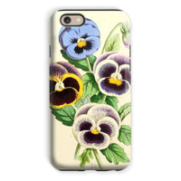 Floral Magazine 1869 Pansies Phone Case Iphone 6S / Tough Gloss & Tablet Cases