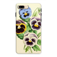 Floral Magazine 1869 Pansies Phone Case Iphone 7 Plus / Tough Gloss & Tablet Cases