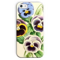 Floral Magazine 1869 Pansies Phone Case Iphone Se / Snap Gloss & Tablet Cases