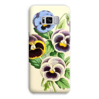 Floral Magazine 1869 Pansies Phone Case Samsung S8 Plus / Snap Gloss & Tablet Cases