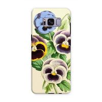 Floral Magazine 1869 Pansies Phone Case Samsung S8 Plus / Tough Gloss & Tablet Cases