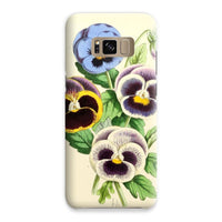 Floral Magazine 1869 Pansies Phone Case Samsung S8 / Snap Gloss & Tablet Cases