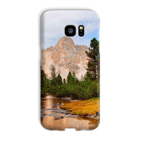 Flowing River With Sky Phone Case Galaxy S7 Edge / Snap Gloss & Tablet Cases