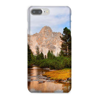 Flowing River With Sky Phone Case Iphone 8 Plus / Snap Gloss & Tablet Cases