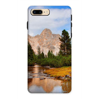 Flowing River With Sky Phone Case Iphone 8 Plus / Tough Gloss & Tablet Cases
