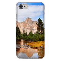 Flowing River With Sky Phone Case Iphone 8 / Snap Gloss & Tablet Cases